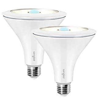 Sengled Smart Light Bulb, Motion Sensor Light Outdoor, Light Bulbs Work with Alexa & Google Home, Flood Light PAR38, Smart Hub Required, 1200LM 12.5W, 90W Equivalent, Warm White 3000K, 2 Pack