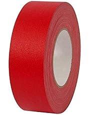 شريط قماشي من اطلس بلون احمر عرض 1 انش (25 ملم) وطول 25 متر