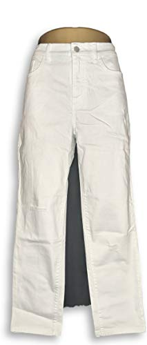 Denim Co. Women's Jeans Size 12 Studio Denim White A304475