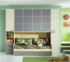 Kinderzimmer A Bridge Creme und Taupe mit Doppel Bett