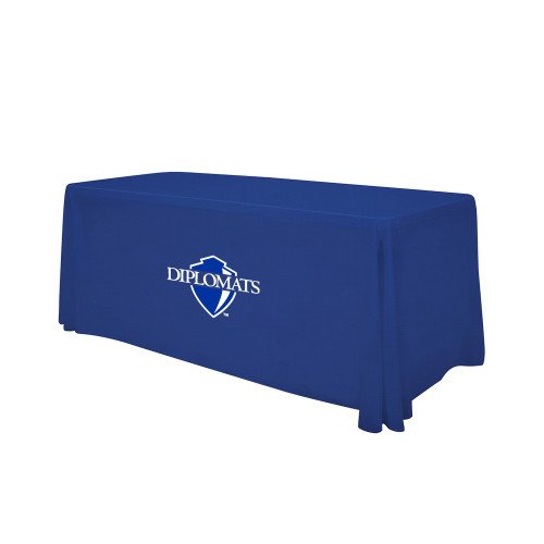 Franklin & Marshall Royal 6 foot Table Throw 'Diplomats Official Logo' by CollegeFanGear