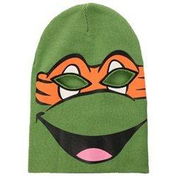 Teenage Mutant Ninja Turtles Michelangelo Face Mask Winter Ski Balaclava  Knit Beanie Hat TMNT 50b1f726668