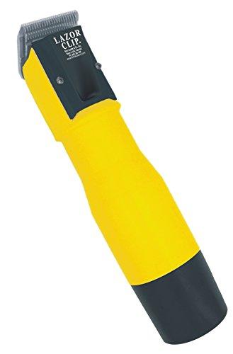 Laube Lazor 2-speed cordless yellow clipper w/ lights