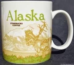 Alaska Starbucks Collectors Coffee Mug 16 oz