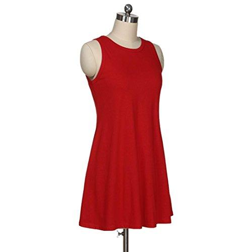 Upxiang Frauen Taschen über Knie Kleid lösen Taschen Taschen Hüfte ...