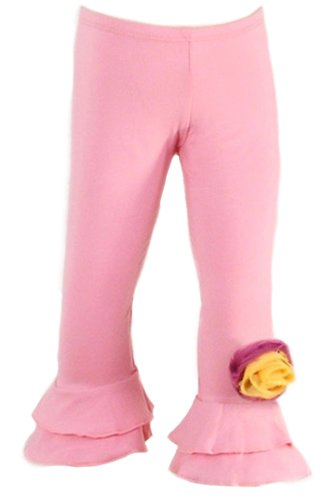 Spinning Tales Little Girls' Pink Bottoms (6/6X) by Spinning Tales