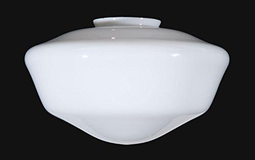B&P Lamp 18'' Opal Schoolhouse Shade by B&P Lamp