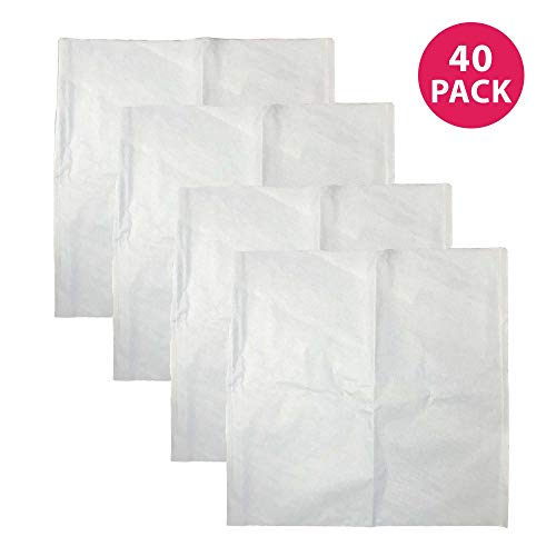 Gallon 40k (Think Crucial Replacement Coffee Filters Compatible With Toddy Paper Coffee Filter Part - 20.3 x 11.1 x 0.4 - Perfect For Cold Brew System Five (5) Gallon Commercial Cold Brew Brewers (40 Pack))
