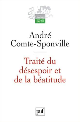 Livre Traité du désespoir et de la béatitude pdf, epub ebook
