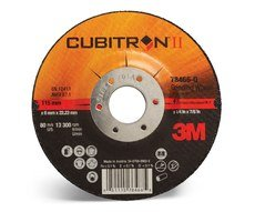 20 -PK 3M 78466 Cubitron II Depressed Center Grinding Wheel (78466-Q) Type 27 4-1/2 in X 1/4 in X 7/8 in