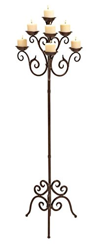 Deco 79 50237 Metal Candelabra, 19'' x 61'' by Deco 79
