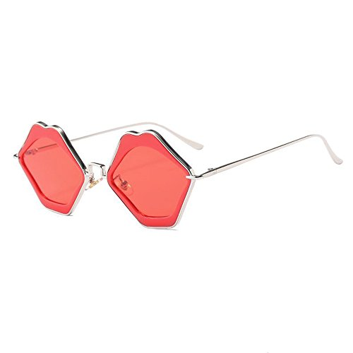De Sunglasses Douerye Fashion Sunglasses Sunglasses Trendy Lip Red Soleil Lunettes 5ZRRxrIHn