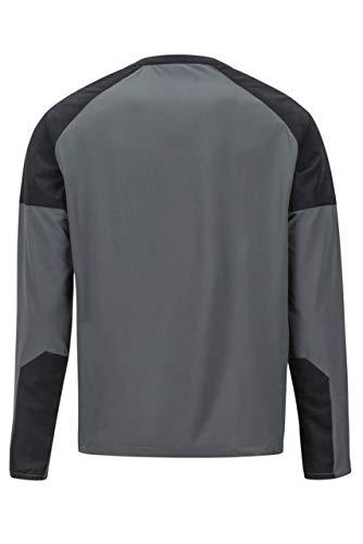 Marmot Bowery Long Sleeve Mens 42260-1444-S Slate Grey//Black Small