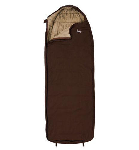 Slumberjack Log Cabin 40 Degree Synthetic Sleeping Bag, Outdoor Stuffs