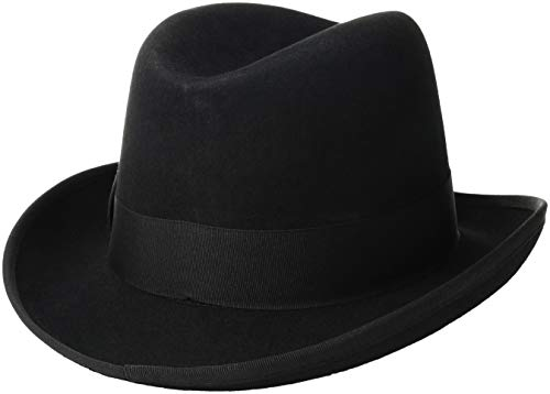 Jual Scala Classico Men s Wool Felt Homburg Hat - Hats   Caps ... 8cbed271fce0
