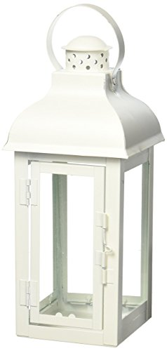 Home Locomotion Gable Medium White Lantern