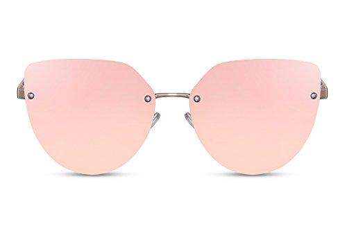 yeux Style Cheapass Lunettes chat Protection UV400 Rose7 Verres Colorés de Branchées de Lunettes soleil XwSUXYq