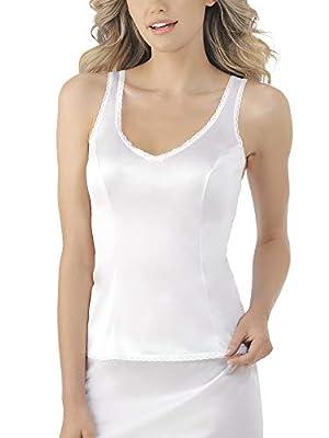5ab6844057843 Vassarette Women s Tailored Anti-Static Camisole 17109. Click Button for  Price