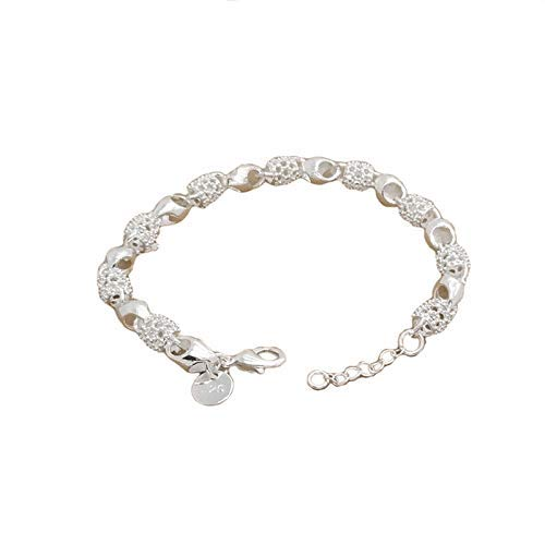 andy coolHollow Heart Chunky Chain Link Bracelet Love Charm Adjustable Bangle Anklet Jewellery For Women Useful and Practical