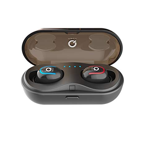 True Wireless Earbuds 5.0 Bluetooth Headphones with Charging Case