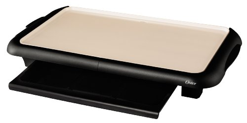 Oster CKSTGRFM18W-ECO Dura Ceramic Griddle with Warming Tray