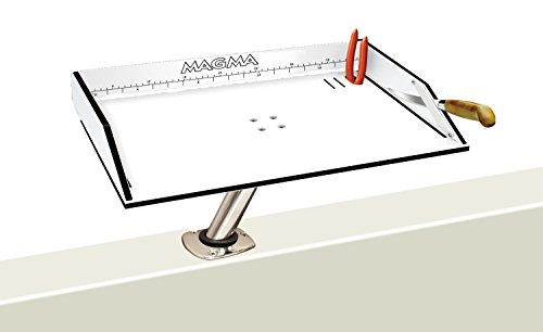 Magma Products, T10-302B Bait / Filet Mate Table, 20 Inch x 12-3 / 4 inch