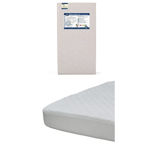 Buy Bargain Serta Evening Air Crib and Toddler Mattress with Beautyrest Luxury Mattress Pad Cover