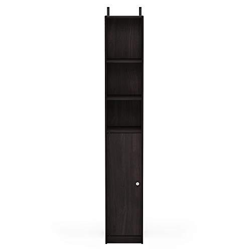 Furinno FR18510EX Indo Slim Door Bath Cabinet, Espresso