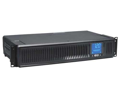 Tripp Lite Smart LCD 1500 VA Tower/Rack Mountable UPS - 1.50 kVA/900 W - 2U - 4 Minute Full Load - 8 x NEMA 5-15R (151589) ()