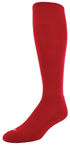 Sof Sole RBI Baseball Team Athletic Performance Socks, Red,