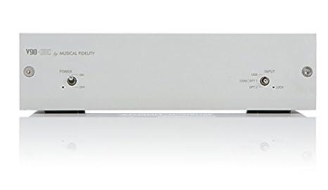 Musical Fidelity V90-DAC - Conversor digital-analógico, plateado