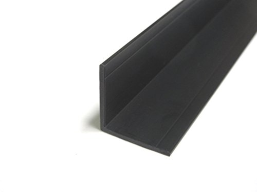 Wall Corner Guard Protector Molding 8-ft Length Black
