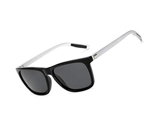 al FlowerKui libre para aire protectoras Hombres deportiva de conducción Gafas sol Mujeres Moda gafas polarizadas de Silver sol UV400 rZa7Trnq
