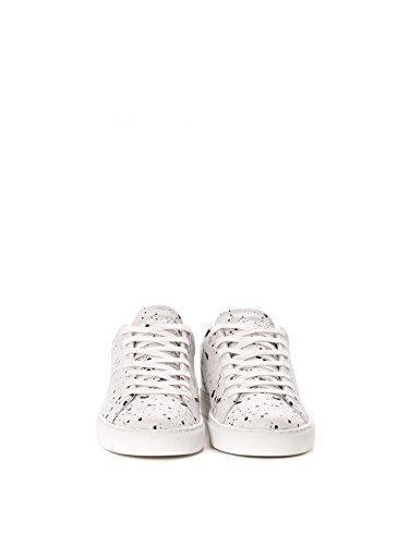 Crime London Sneakers Uomo 1126140 Pelle Bianco/Nero