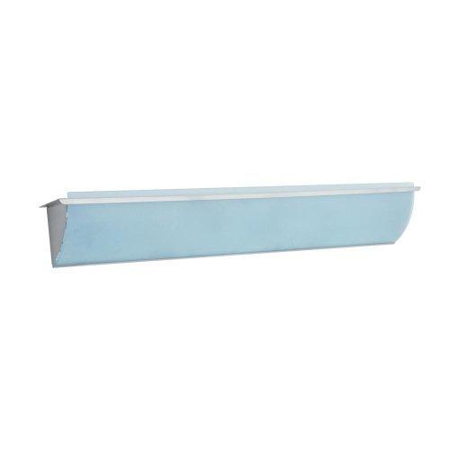 PLC 883 SN Corona Halogen Bath Bar, Acid Frost Glass-Satin Nickel - Light Acid Halogen Bathroom Frost