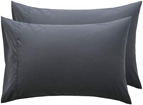 Bedsure Grey Pillowcase Set Microfiber product image