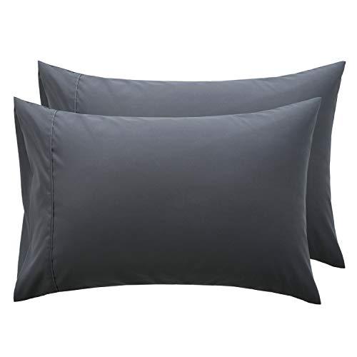 Bedsure Grey Pillowcase Set - Queen Size (20