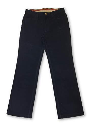 W34 Robert Cord Navy Cotton In Graham Jeans Size qqYRpBw