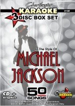 (Chartbuster Karaoke CDG 3 Disc Box Set 5130 - Michael Jackson Hits)