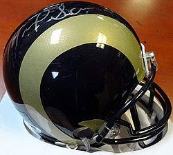 Michael Sam Signed St. Louis Rams Replica Mini Helmet - PSA/DNA Authentication - Autographed NFL Football Helmets