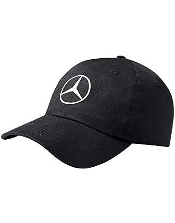 Gorra de Mercedes Benz, color negro, unisex