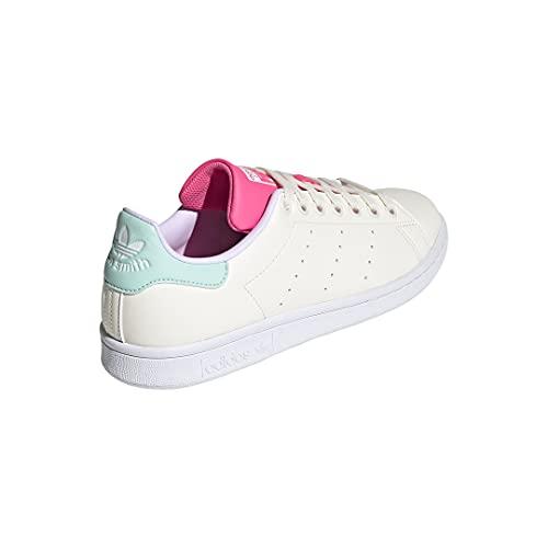 adidas Originals womens Stan Smith Cream White/Cream White/Clear Mint 9