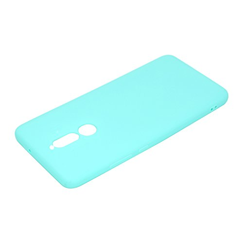 Funda para Huawei Mate 10 Lite , IJIA Puro Verde TPU Silicona Suave Cover Tapa Caso Parachoques Carcasa Cubierta Case para Huawei Mate 10 Lite (5.9) Green