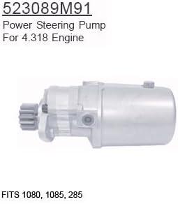 MASSEY FERGUSON POWER STEERING PUMP  523089M91  285 1080 1085