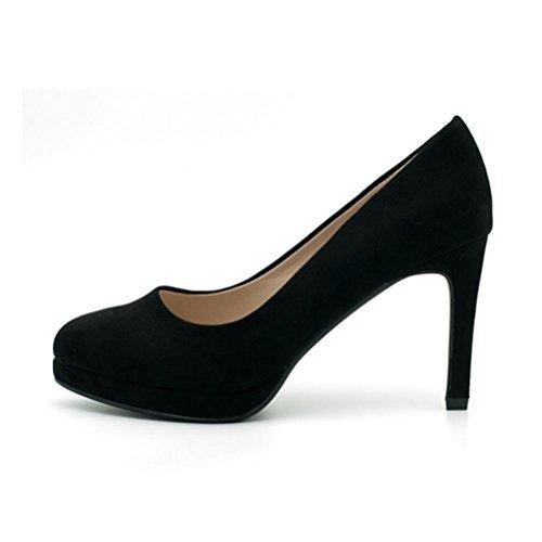 Mouth bronze color talons femmes chaussures confortables chaussures simples XIE pointu Les haut mode Shallow talon femmes qFCxZXnwT