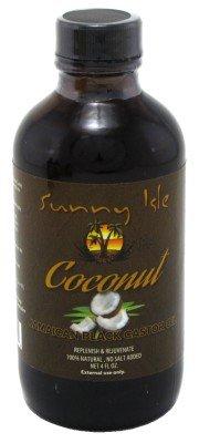 Sunny Isle Jamaican Castor Oil, Coconut Black, 4 Fluid Ounce For Sale