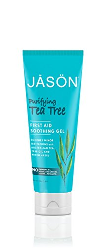 Oil Burn First Aid (Jason Purifying Tea Tree First Aid Soothing Gel, 4 Ounce)