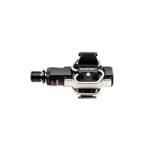 Look Cycle S-Track Carbon Ti Pedals Black, One (Look Carbon Fork)