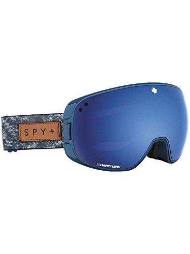 Spy Optic Bravo Snow Goggles | Medium-Sized Ski, Snow Goggle | (Native Nature Navy-Happy Rose w/Dark Blue Spectra+Happy Light Gray Green w/Lucid RED) in USA