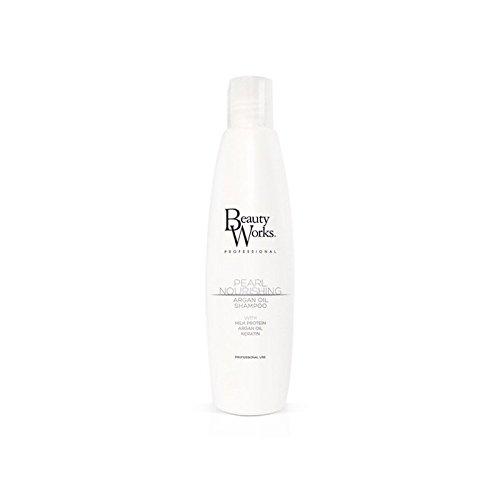 Beauty Works Pearl Nourishing Argan Shampoo (Pack of 6) - 美しさは真珠栄養アルガンシャンプーの作品 x6 [並行輸入品] B071KWLNQ6